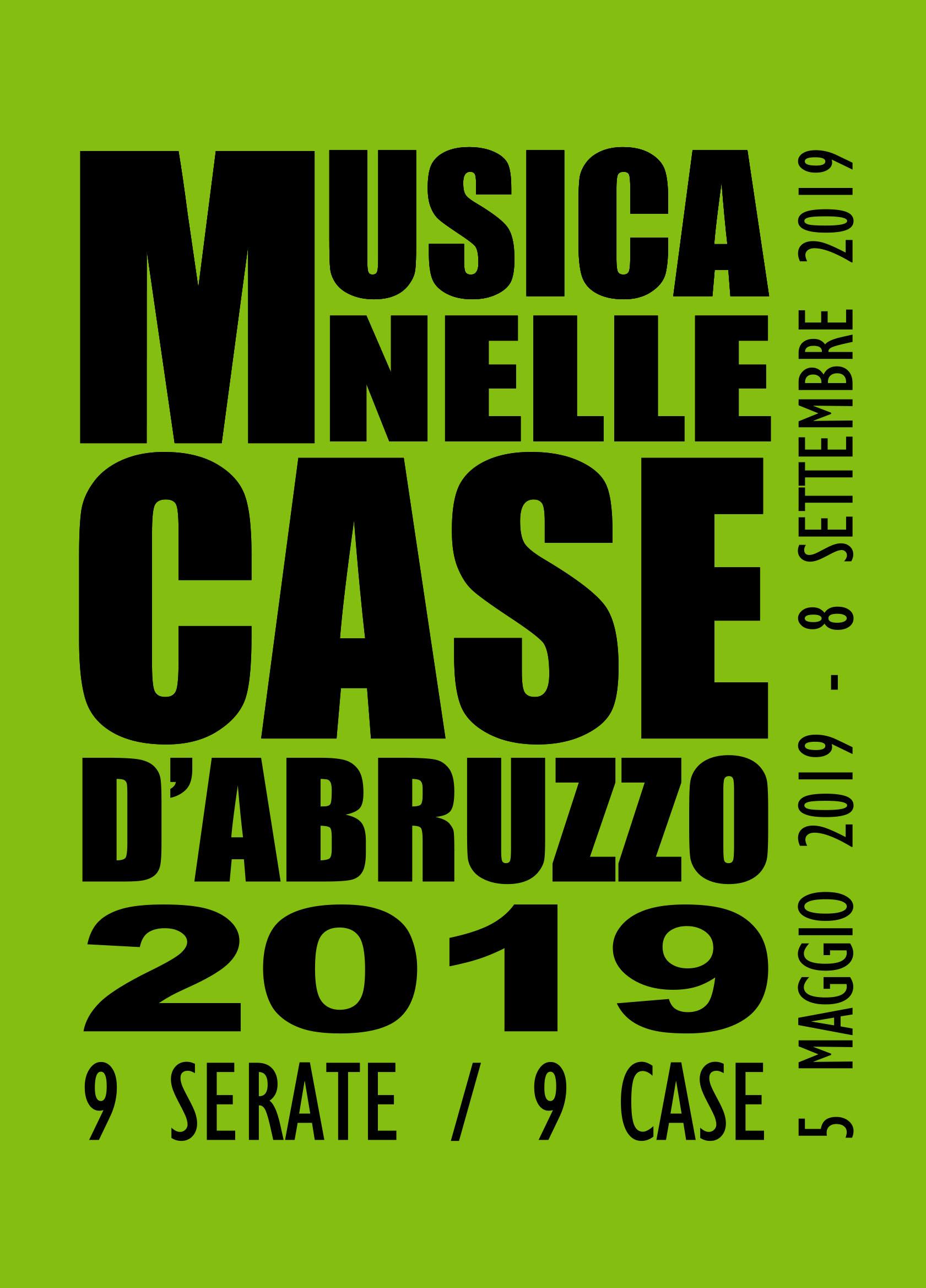 Musica nelle case d'Abruzzo 2019