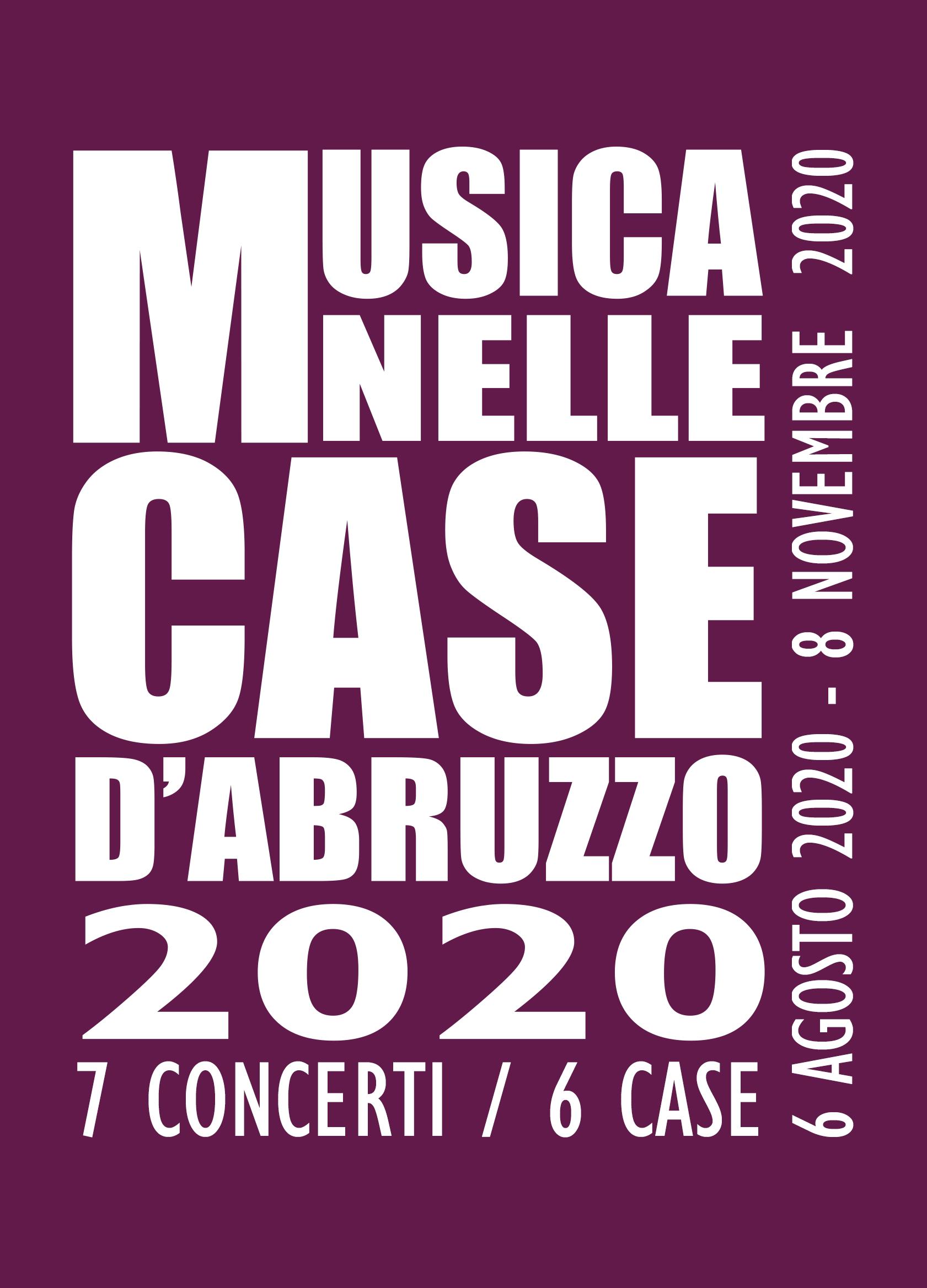 Musica nelle case d'Abruzzo 2020